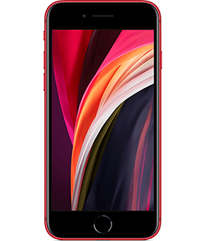 apple iphone se 2 gen rot vorne