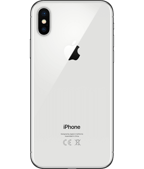 apple iphone x silver 1