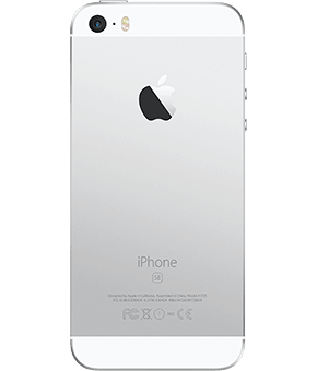 iphone se silver 1